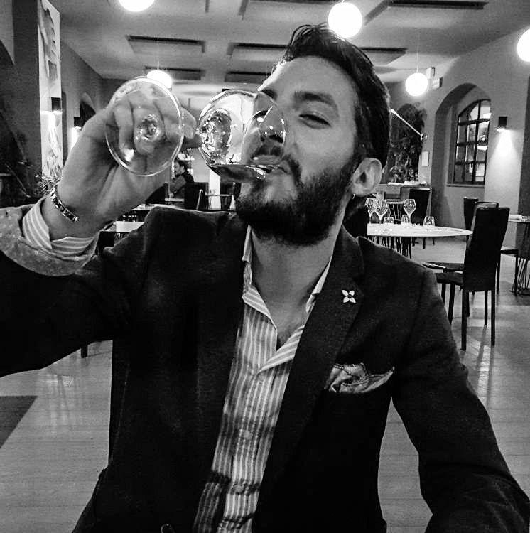 Alessio Vanetto studente Vino Facile Torino